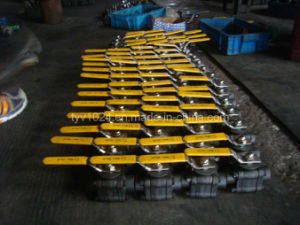 Forged Small Size Ball Valve (3-PC)