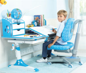 Height Adjustable Ergonomic Kids Desk with Bookstand pictures & photos