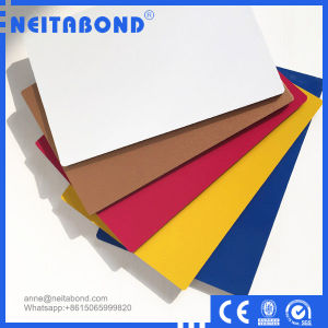 Exterior Wall Used 3mm 4mm PVDF Aluminum Wall Panel with Ce pictures & photos