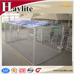 High Quality Galvanised Dog Kennel with Shelter pictures & photos
