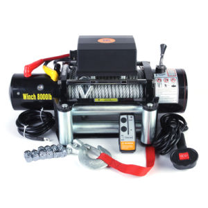 Electric Winch 8000lbs for Recovery pictures & photos