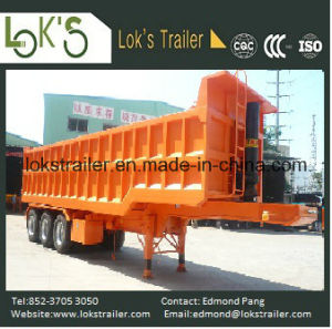 31cbm 3 Axles Soil Tipper Trailer pictures & photos