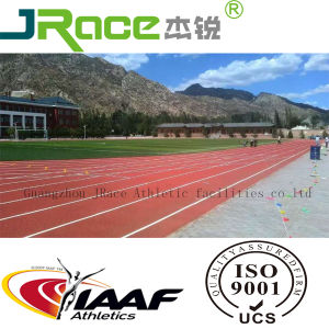 Recyclable No Smell Red Rubber Running Track (JRACE) pictures & photos