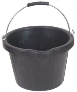 Recycled Rubber Buckets, Rubber Pail, Rubber Container Constrution Bucket (9135)