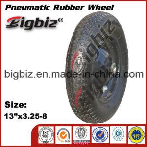 Long Life 13 Inch Rubber Wheel for Wheelbarrow pictures & photos
