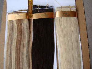 """Double Drawn Natural Luxury Quality Weft/Curtain Hair Extension 18/20/22/24"""" (WHH--STW-003)"""