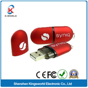 Plastic USB Flash Memory with Free Logo Printing pictures & photos
