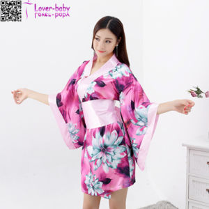 New Style Sexy Beautiful Japanese Wholesale Kimono Robes L28208-3 pictures & photos
