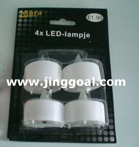 Blister Pack LED Candle (JE1025) pictures & photos