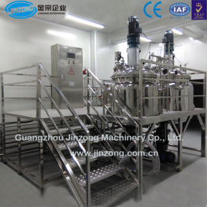 Guangzhou Jinzong Machinery Vacuum Homogenizer Mixer pictures & photos