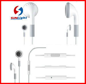 Mobile Earphone for iPhone4 Mic and Remote pictures & photos