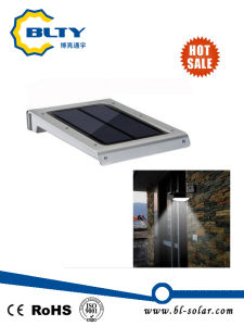 Solar Power Motion Sensor Garden Wall Lamp pictures & photos