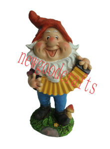 Resin Music Gnome (STW6114)