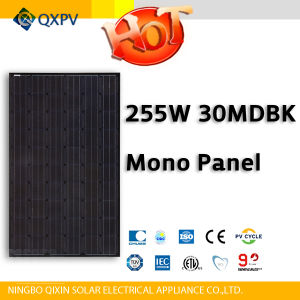 30V 255W Black Mono Solar Panel pictures & photos