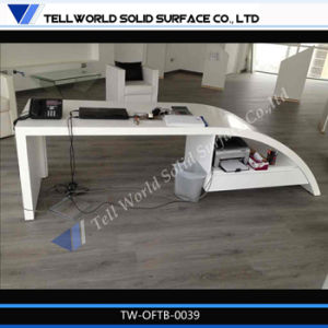 Luxury Office Table Curved Office Table for Leader Office pictures & photos
