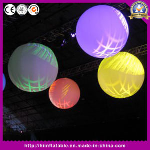 New! ! Attractive Wedding Decoration Inflatable Ball with The LED Changeable Lights
