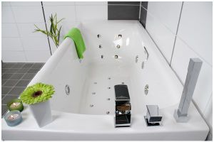 Massage Bathtub (B-8867C)