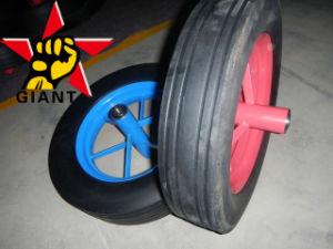 14 Inch Solid Rubber Spoke Wheels for Wheelbarrow