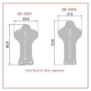 Bock Valve Reeds Includes Suction Reeds and Discharge Reeds