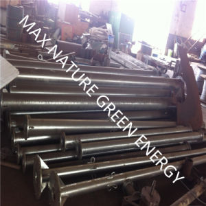6m Tubular Galvanised Steel Tapered Tower for Wind Turbine pictures & photos