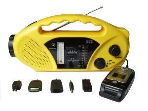 Solar Dynamo Radio with Flashlight (HT-898A) pictures & photos