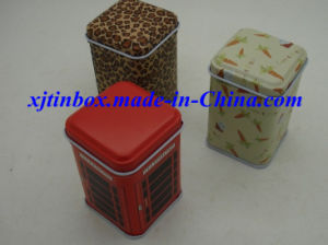Super High Quality Mini Tea Box, Coffee Mini Box, Tin Tea Box