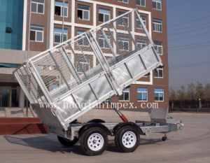 2 Ton Galvanized Tipping Trailer