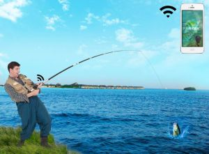 New Arrival Hot Sales Fish Fnder WiFi Fishing Camera Fish APP pictures & photos