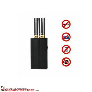 5 Antenna Portable Cell Phone Wi-Fi GPS L1 Jammer pictures & photos