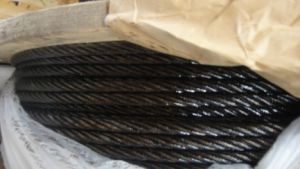 Ungalvanized Steel Wire Rope with Ashpalt pictures & photos