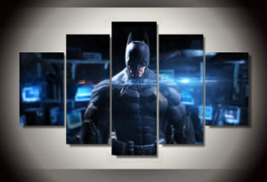 HD Printed Batman Movie Poster Group Painting Canvas Print Room Decor Print Poster Picture Canvas Mc-148 pictures & photos