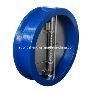 Non-Return Valves with Double Plate (between flanges) pictures & photos
