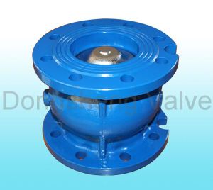 Cast Iron Flange End Silent Check Valve Pn16 pictures & photos