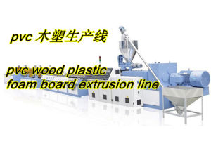 PVC Skinning Foam Board Extrusion Line pictures & photos