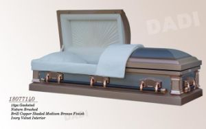 American Style Metal Coffin (18077140) pictures & photos