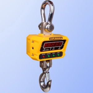 Digital Crane Scale Hanging Scale with OIML Load Cell (GS-C-1T) pictures & photos