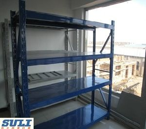 High Quality Galvanized Customed Longspan Storage Medium Duty Shelving pictures & photos
