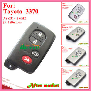Smart Key for Toyota with 3+1 Buttons Ask314.3MHz 3370 ID74 Wd03 Wd04 Camryyarisrv4reizvios 2008 2013 Silver pictures & photos
