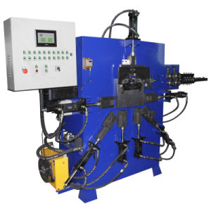 Bucket Handle Making Machine with Ending Stamping and Plastic Cover pictures & photos