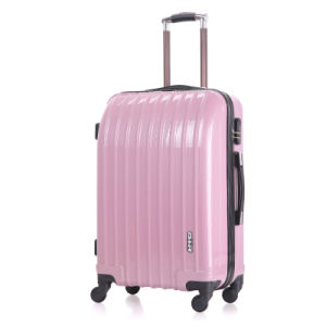 Hardside Luggage Coated Material with 360 Degrees Rotating Wheels pictures & photos