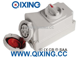 32A 5p IP67 Waterproof Switch and Socket pictures & photos