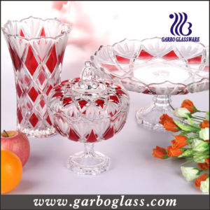 Glass Tableware&Glassware Set&Glass Candy Jar&Glass Plate&Glass Vase pictures & photos
