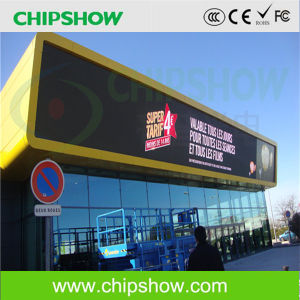 Chisphow High Quality P10 RGB Full Color Outdoor LED Sign pictures & photos