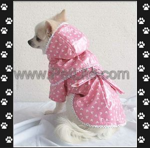 2011 Waterproof Pet Raincoat, Snowproof Warm Dog Rain Coat (A9124PK)