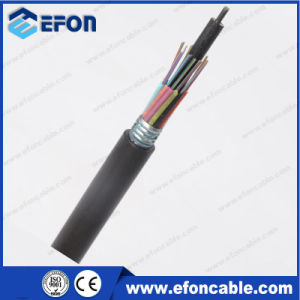 Duct 24/36/72/96 Core Aluminium Armored Optical Fiber Cable (GYTA) pictures & photos