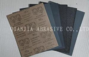 Latex Paper Silicon Carbide Waterproof Abrasive Paper