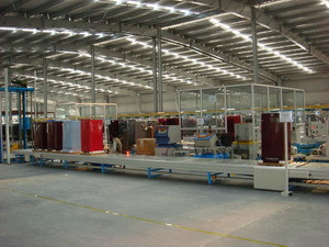 Refrigerator Assembly Line