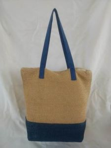 Beach Bag, Made of Straw in Simple and Elegant Design pictures & photos