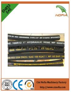 Industrial Steel Wire Braided Hydraulic Hose (R5) pictures & photos