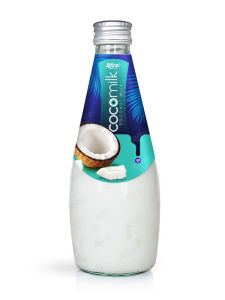 Natural Coconut Milk Drink 290ml Glass Bottle pictures & photos